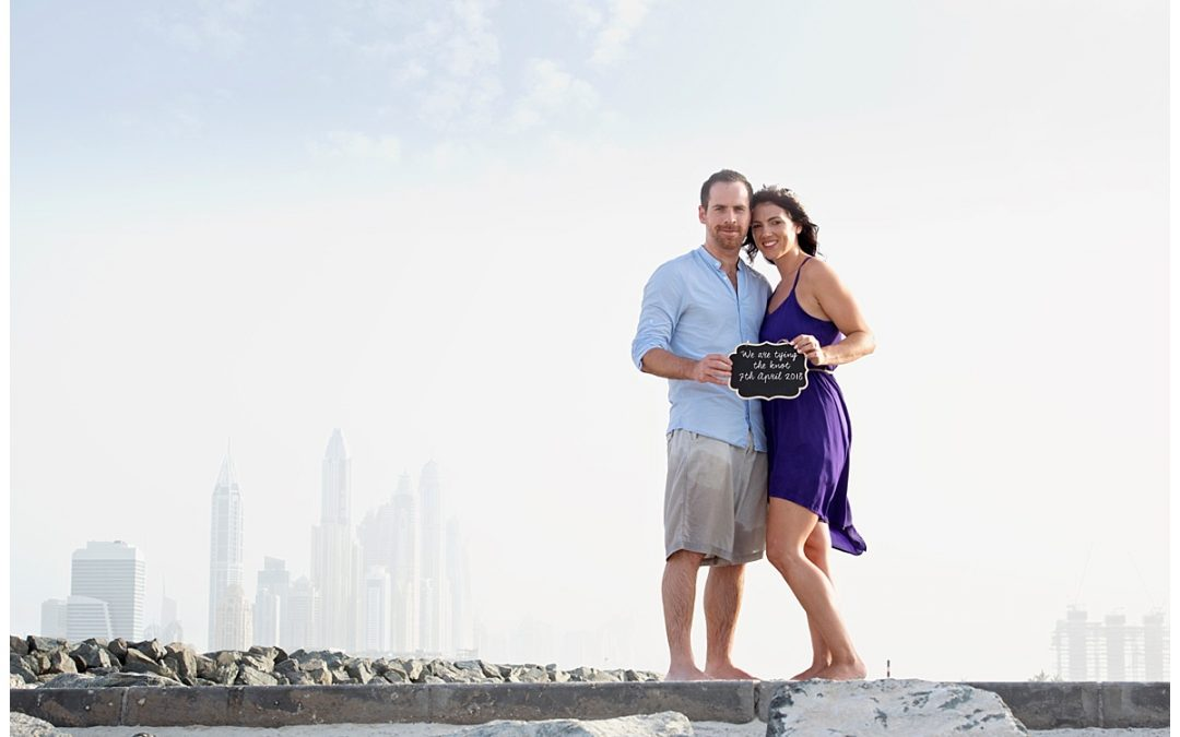 Coastal Engagement | Dubai Wedding Photographer | Shay Photography