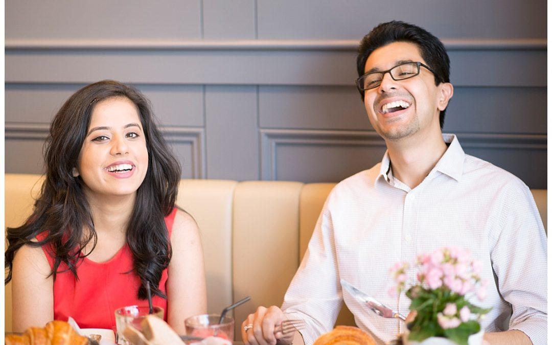 Aubaine Cafe Romance | Dubai Wedding | Shay Photography