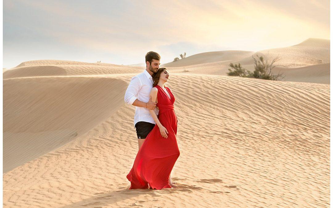 Desert Romantic Photoshoot | Dubai Wedding Photographer |Shay Photography